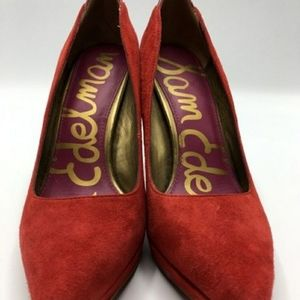 Sam Edelma Celia Red Pumps